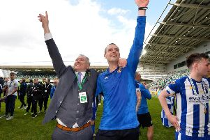Coleraine chairman Colin McKendry is delighted to have reappointed Oran Kearney as manager