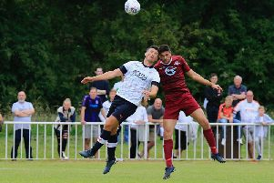 Hatters defender Matty Pearson