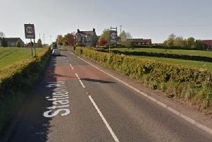 The Station Road will be closed until the end of the month. Pic by Google.