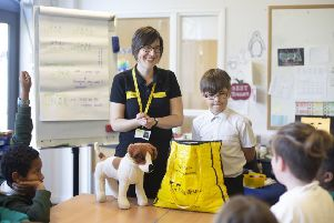 school children set to benefit from free dog welfare workshops in Northern Ireland thanks to Dogs Trust