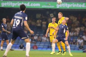 Dons were 4-1 winners at Southend last month