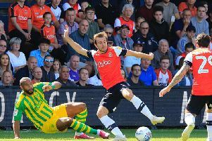 Callum McManaman is starting to enjoy his football once more with Luton