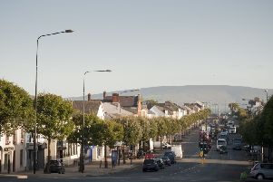 Cookstown Town Centre.