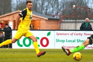 Tre Mitford has joined Kettering Town from Bedford Town