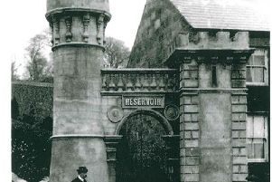 Dungannons Reservoir Towers pictured circa 1919 are to undergo structural repairs.