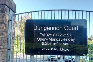 Dungannon Courthouse.