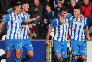 Ben Doherty scored a double from the spot to give Coleraine the win