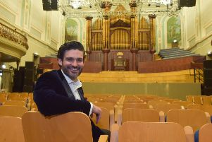 Derry tenor, George Hutton will take to the stage for Age NI's 10th anniversary concert, a Night of Celebration and Song, in the Ulster Hall on February 6 2020.