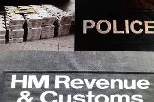 Magherafelt police assisted Customs officials in the operation.