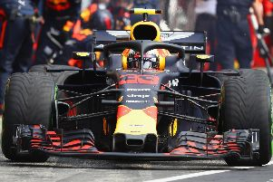 Max Verstappen's gamble on inters didn't pay off, but also didn't harm his chances in Germany