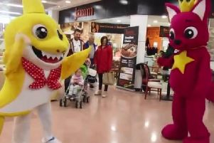 The video was recently shot in Derry's Richmond Centre.