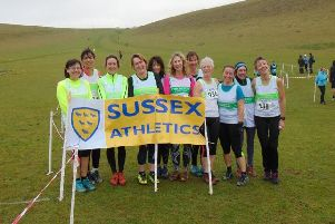 Some of the Chi Runners at Lancing / Picture by Peter Anderson