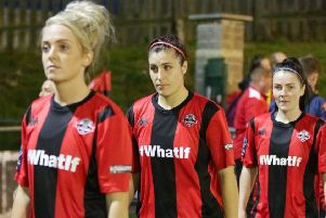 Lewes Women FC  - picture: James Boyes