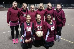 Melton Marvels boosted their hopes of staying in the county league's top flight after back-to-back promotions. From left, back ' Izzie Dooley, Isla Cullingworth, Faye Meakin, Nicole Spencer, Beth Draisey, Sarah Morris; front ' Becky Greaves, Mary Copley, Dannii Donovan EMN-190219-115251002