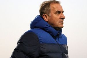 Glenavon assistant manager Paul Millar. Pic by Pacemaker.