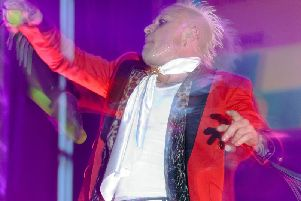 Keith Flint, who performed in Milton Keynes in 2010, was found dead on Monday