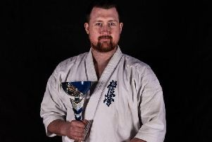 Chris McAllister won Scottish Open gold in the novice heavyweight category EMN-190703-121814002