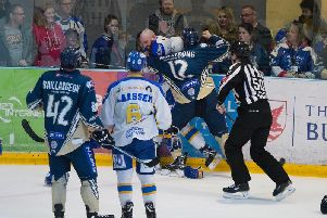 MK Lightning vs Fife. Pic: Tony Sargent