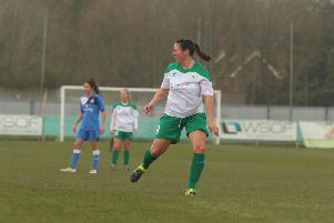 Kim Stenning scored her first goal for Chi City Ladies