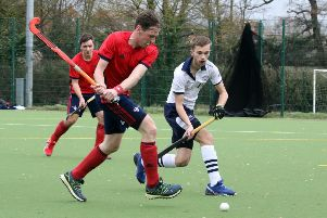 Banbury's Steve O'Connor gets in a shot against Oxford University. Photo: Steve Prouse