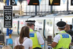 All crime: 2018/19 - 199 incidents; 2017/18 - 200 incidents. Passenger numbers 8,666,663