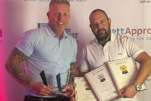 Minters Paving in Bognor Regis was awarded the top spot in two categories at the Brett Installer Awards. Its patio work was also recognised.