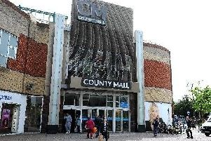 A new shop at County Mall, Crawley, is creating more than 50 jobs