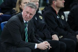 Northern Ireland manager Michael O'Neill will be hoping for another three points tonight against Belarus.