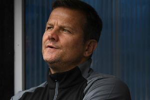 Forest Green boss Mark Cooper