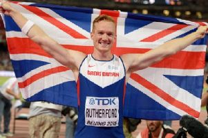 Olympic legend Greg Rutherford
