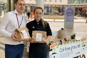 Free compost for gardeners in coffee ground-breaking scheme at intu Milton Keynes