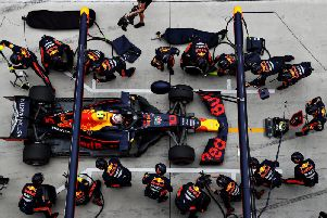 Pierre Gasly's late pit-stop earned him the fastest lap