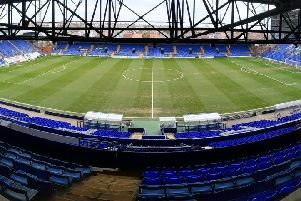 Prenton Park - home of Tranmere Rovers