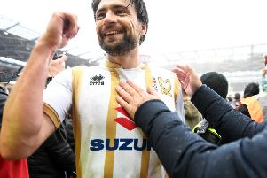 Russell Martin celebrates promotion