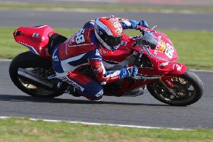 Tom Neave in action at the recent Silverstone round. Photo: David Yeomans.