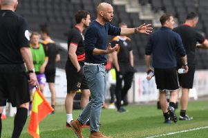 Paul Tisdale wants to nudge Dons in a different direction