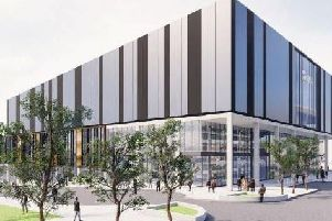 An artist's impression of the building set to replace The Point