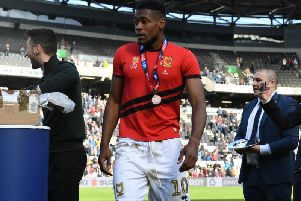 Chuks Aneke has been offered a new contract at MK Dons