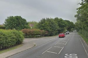 The crash happened on the A286 near Birdham. Picture: Google Streetview