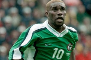Jay-Jay Okocha is a resident of Milton Keynes according to court papers