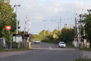 Level crossing at Bow Brickhill