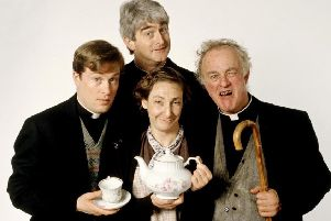 Hit sitcom Father Ted ran on Channel 4 from 1995 until 1998