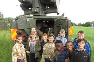 Army Day at Thorney Island Community Primary School