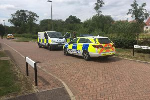 Police in Newton Leys