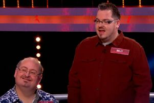 Billy and Chris Blanchard-Cooper appeared on the 100k Drop. Picture: Channel 4