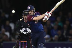 Adam Rossington top scored for Steelbacks with 47