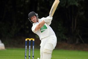 Jamie Morgan cracked a quickfire 40 for Market Deeping against Castor.