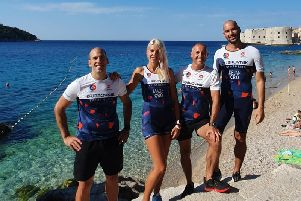 The Croatian athletes who are set to compete in Brighton for the first time