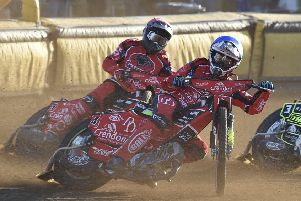 Scott Nicholls helped Leicester to a Championship Final win at the weekend and is back in action for Panthers.