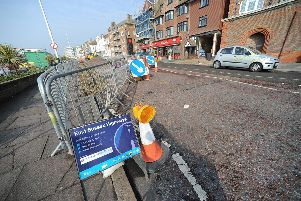 Bexhill Seafront Roadworks SUS-150318-121307001